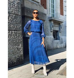 Emporio Armani Lang kleed Emporio Armani koningsblauw