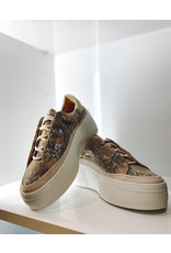 Sneakers SVNTY platform snake