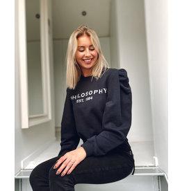Philosophy Sweater Philosophy d. blauw