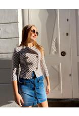 Kort jeansrokje Elisabetta Franchi