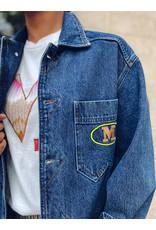 M Missoni Oversized lange jeansvest M Missoni