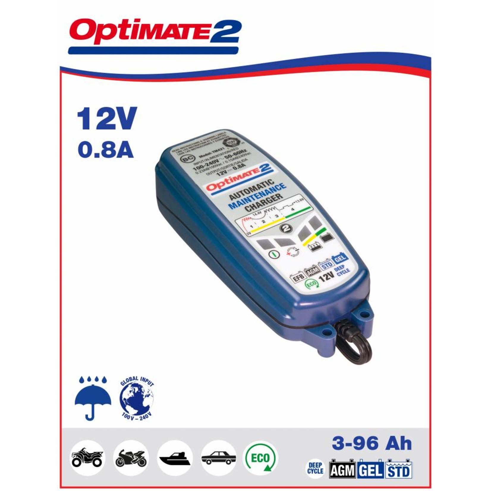 OptiMate OptiMate 2  - Acculader 12V