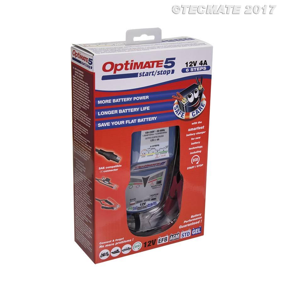 OptiMate 5 - Battery Charger start/stop 12V