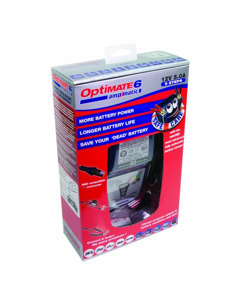 OptiMate 6 Ampmatic - Acculader 12V