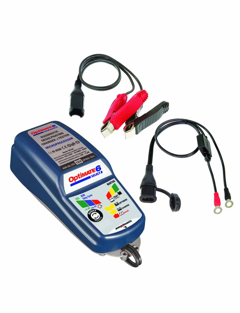 OptiMate 6 Select - Battery Charger 12V
