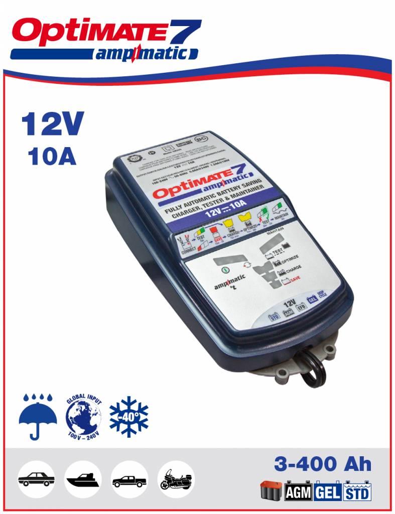 Acculader Ampmatic 12-V