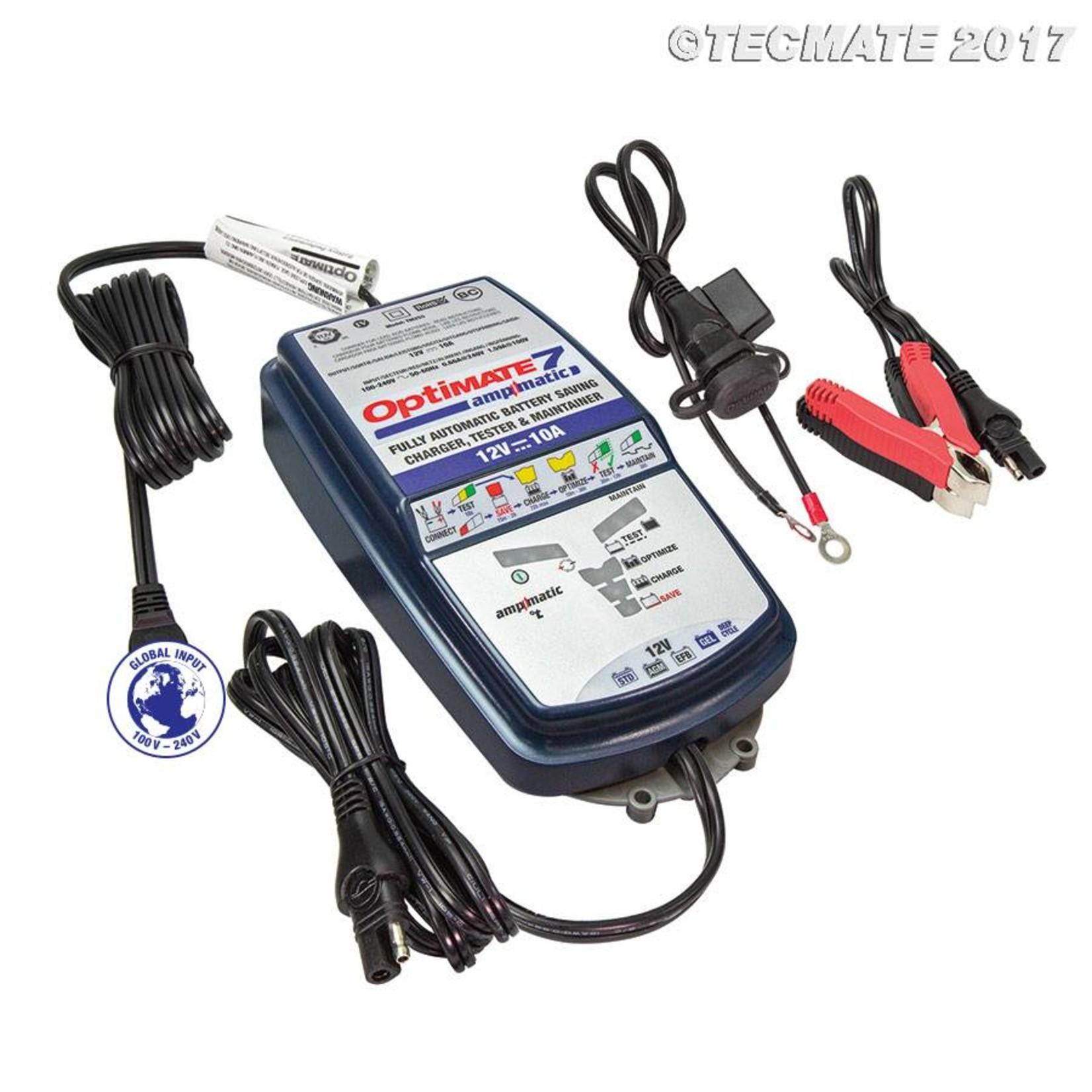 OptiMate OptiMate 7 Ampmatic - Acculader  12V