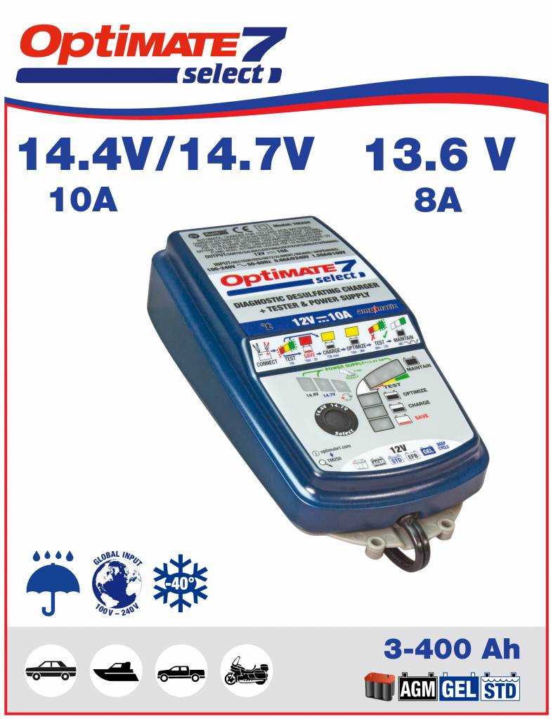 Battery Charger Select 12-V