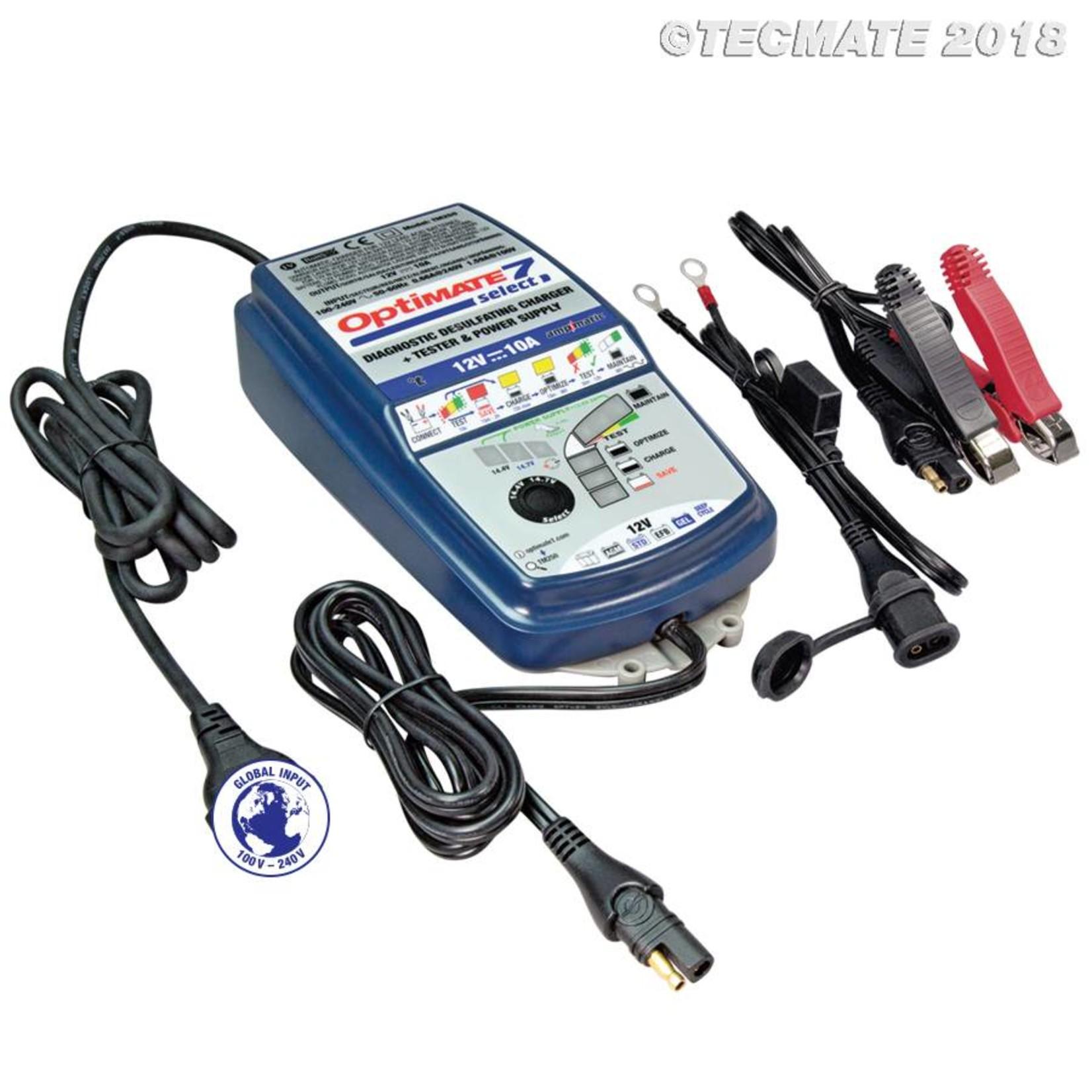 OptiMate OptiMate 7 Select - Battery Charger 12V