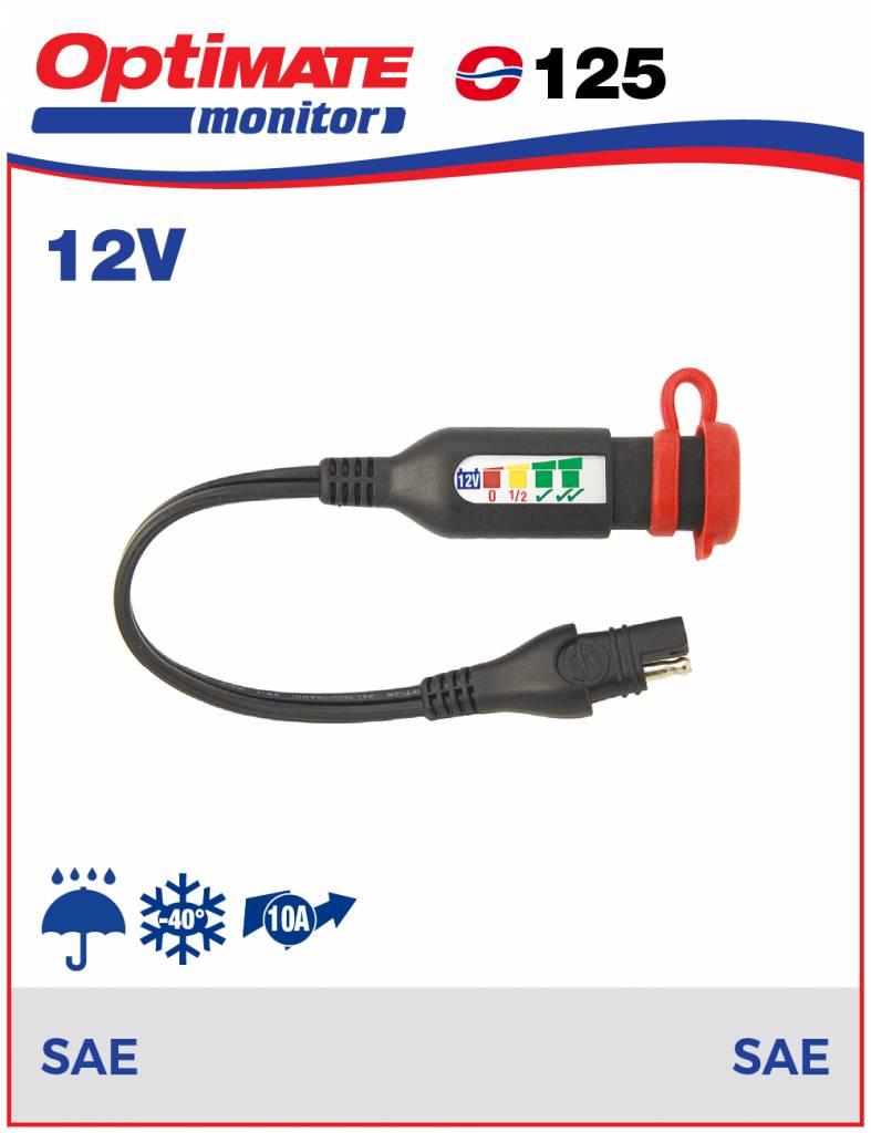OptiMate O-125 Accumonitor 12V