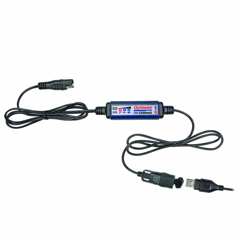OptiMate O-108 USB lader 3300mA