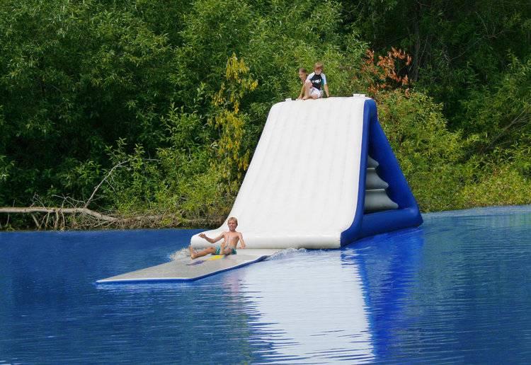 Water-float