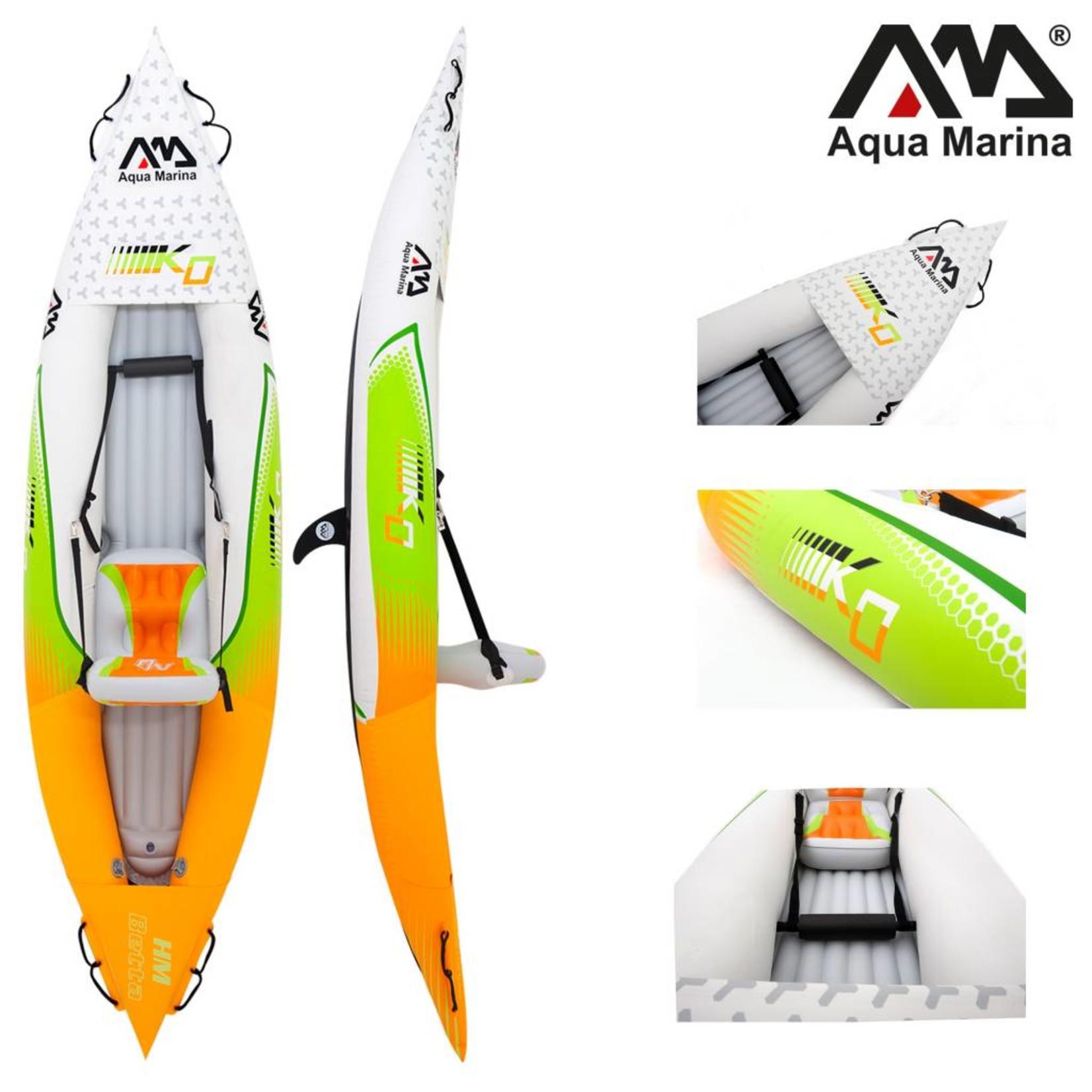 Aqua Marina Betta HM K0 One - Opblaasbare Kajak met Peddel