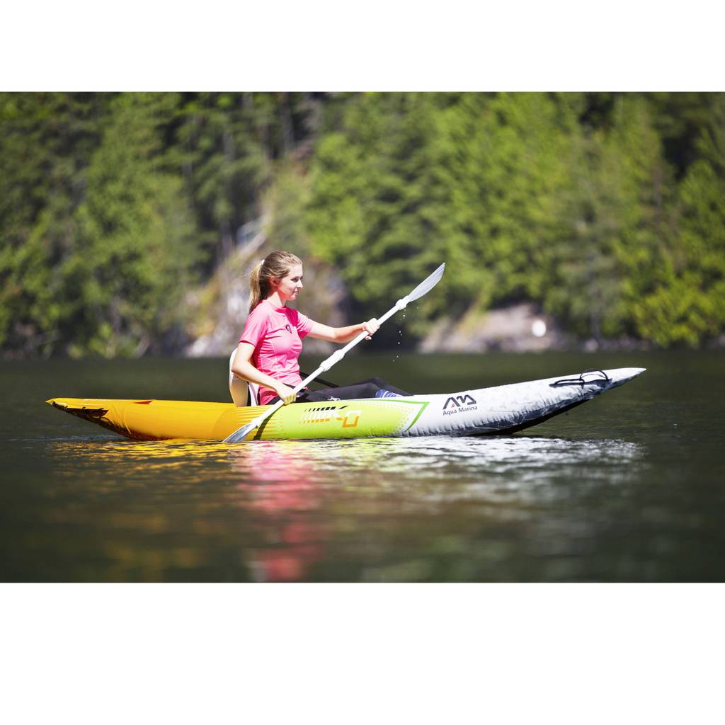 Betta HM K0 One - Inflatable Kayak with Paddle