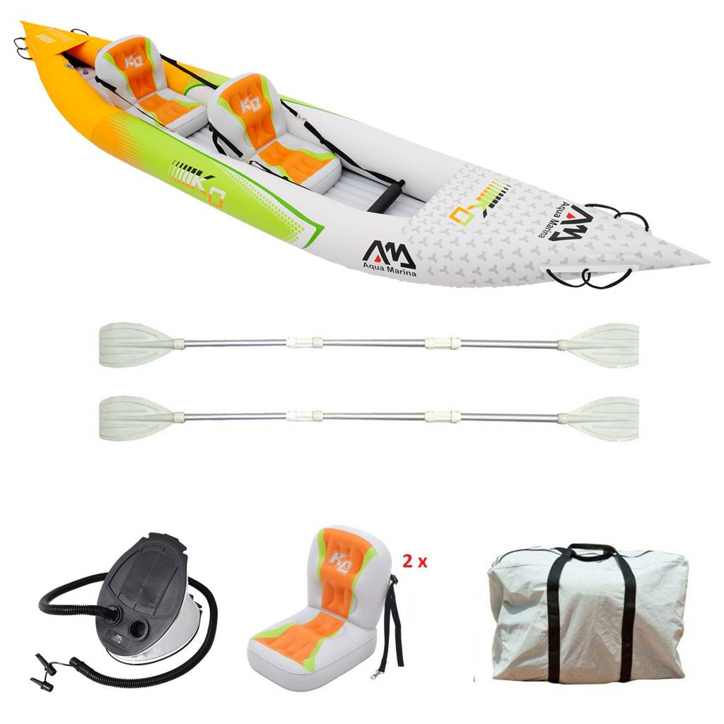 Betta HM K0 Two - Inflatable Kayak with Paddle