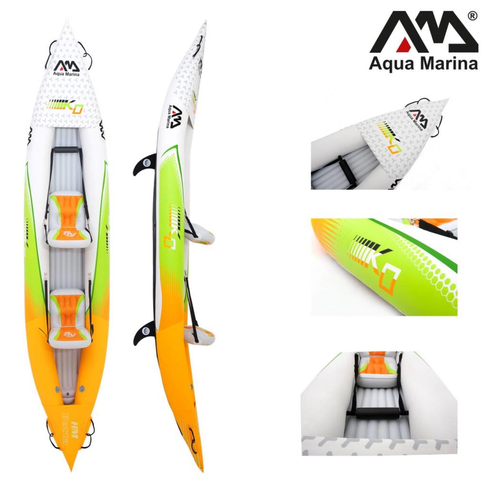 Aqua Marina Betta HM K0 Two - Opblaasbare Kajak met Peddel