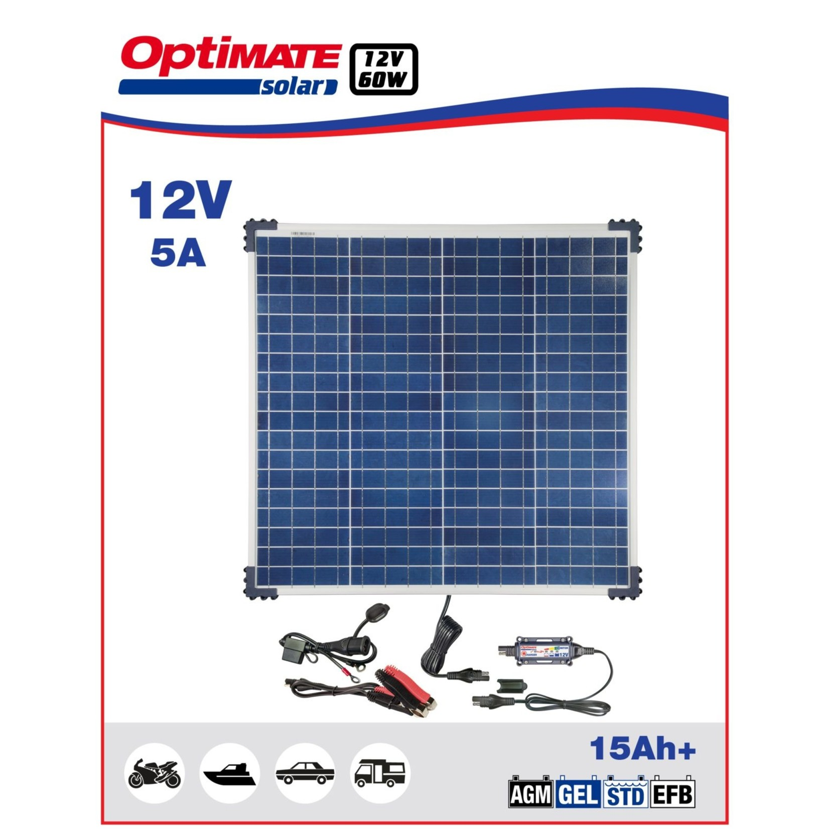 OptiMate Solar 60W - Battery Charger