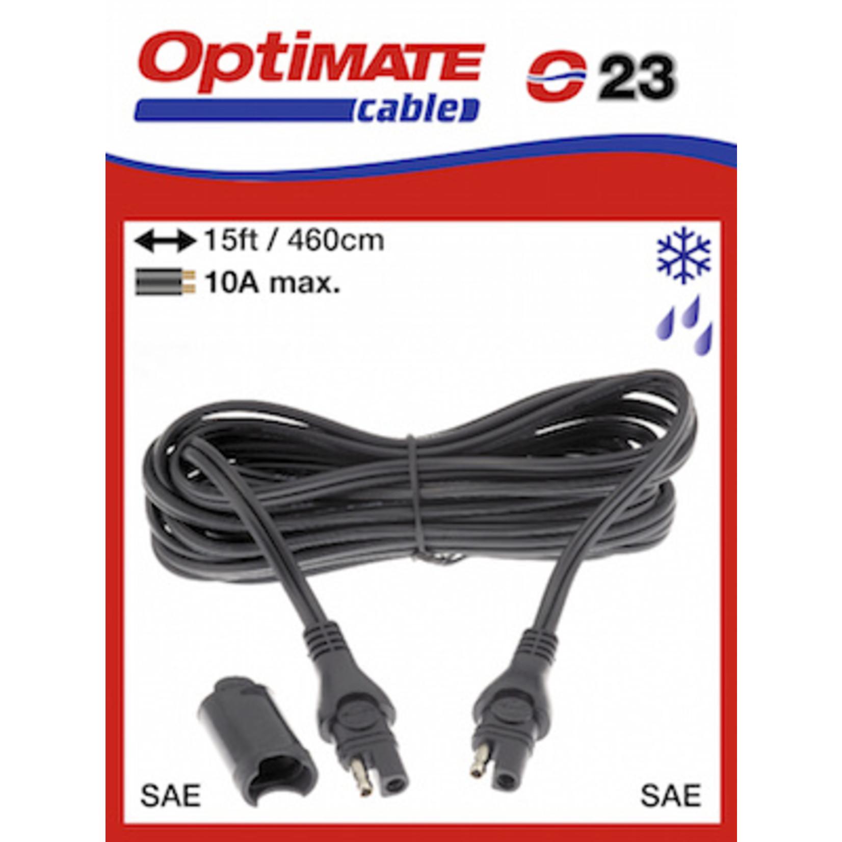 OptiMate OptiMate O-23 Verlengkabel 10 Amp