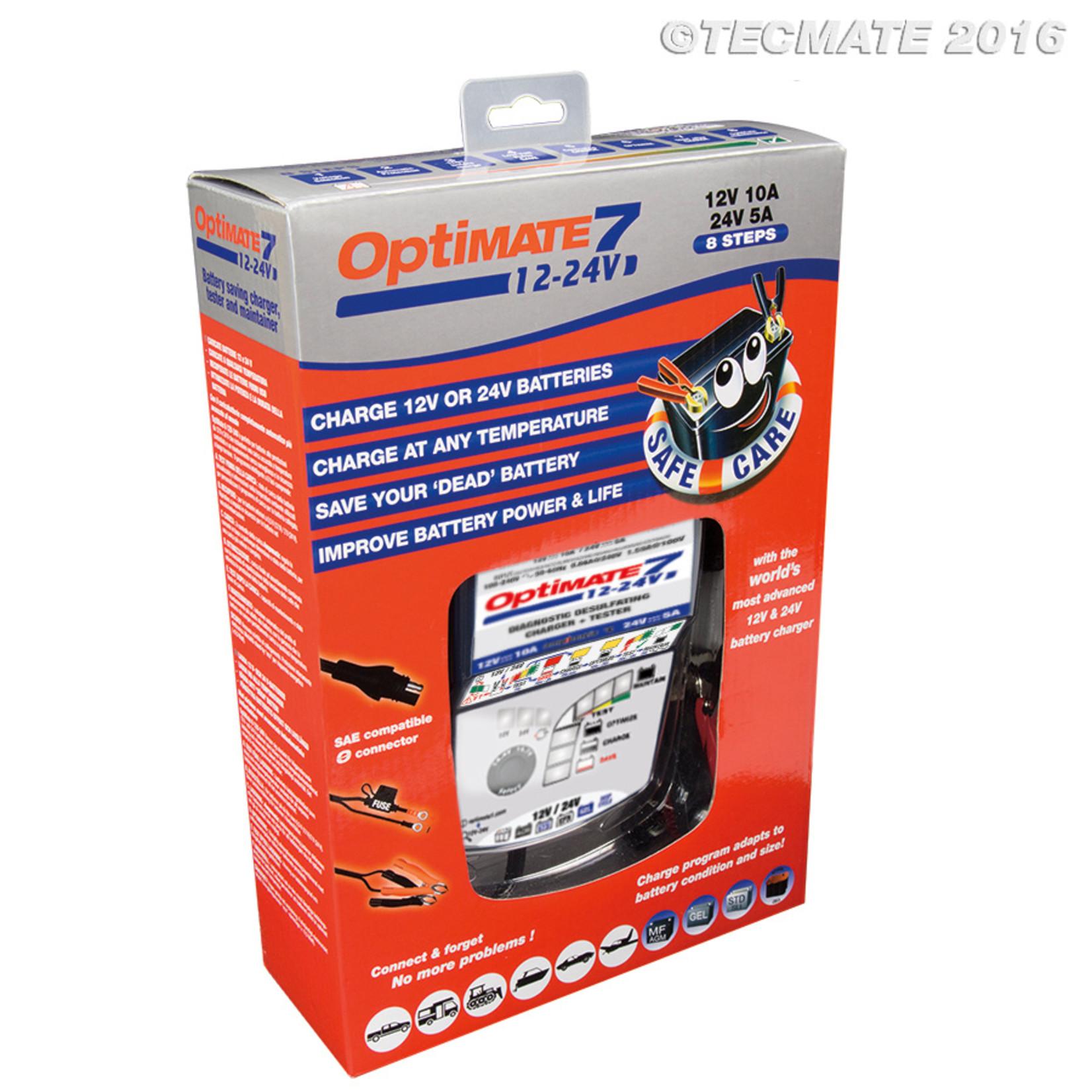 OptiMate OptiMate 7 12V-24V - Acculader