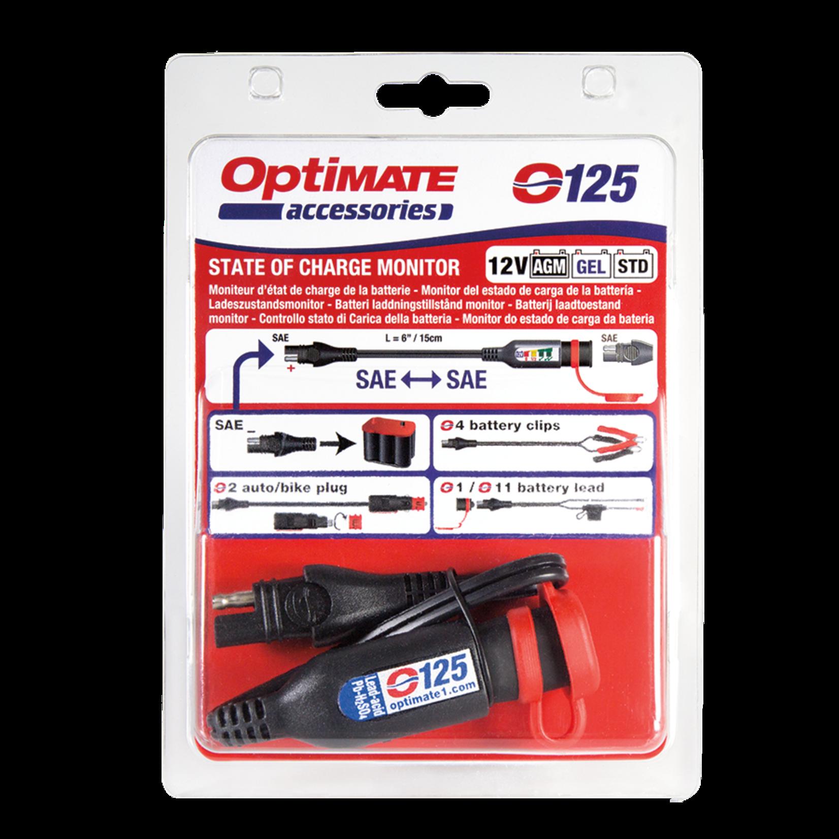 OptiMate OptiMate O-125 Accumonitor 12V