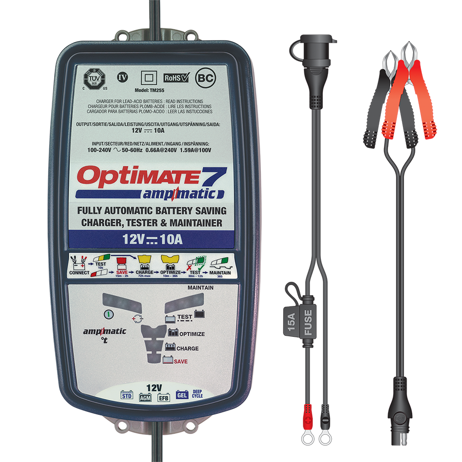 OptiMate 7 Ampmatic - Battery Charger 12V