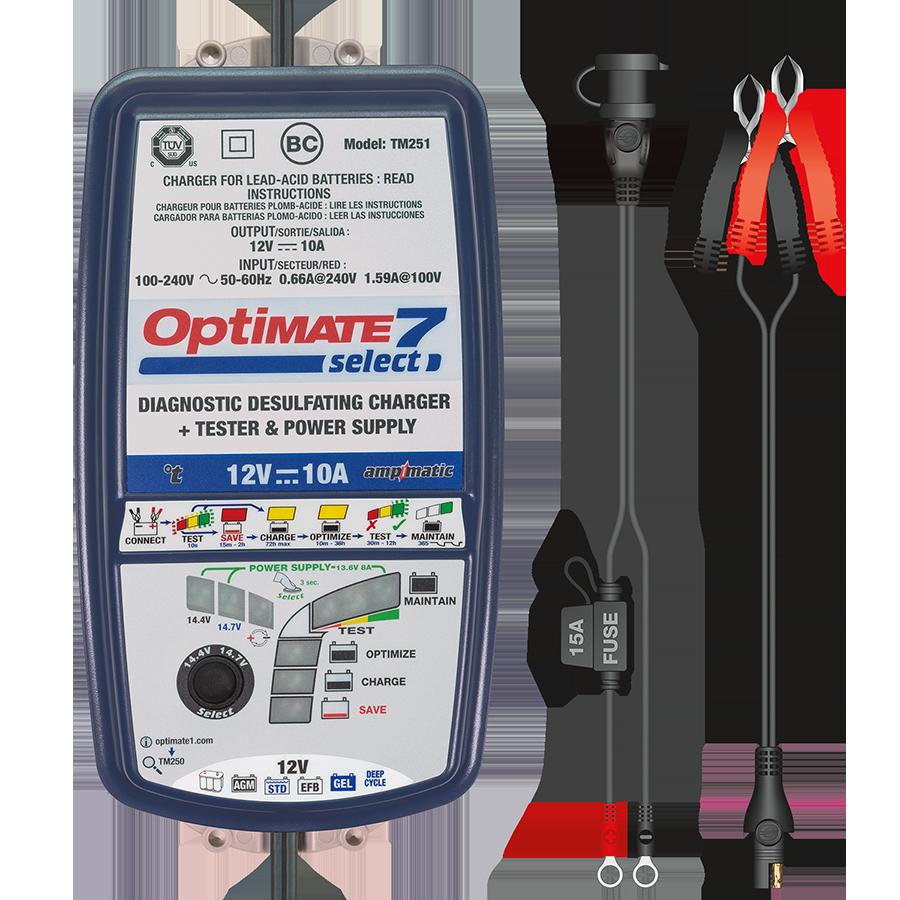 OptiMate 7 Select - Acculader 12V