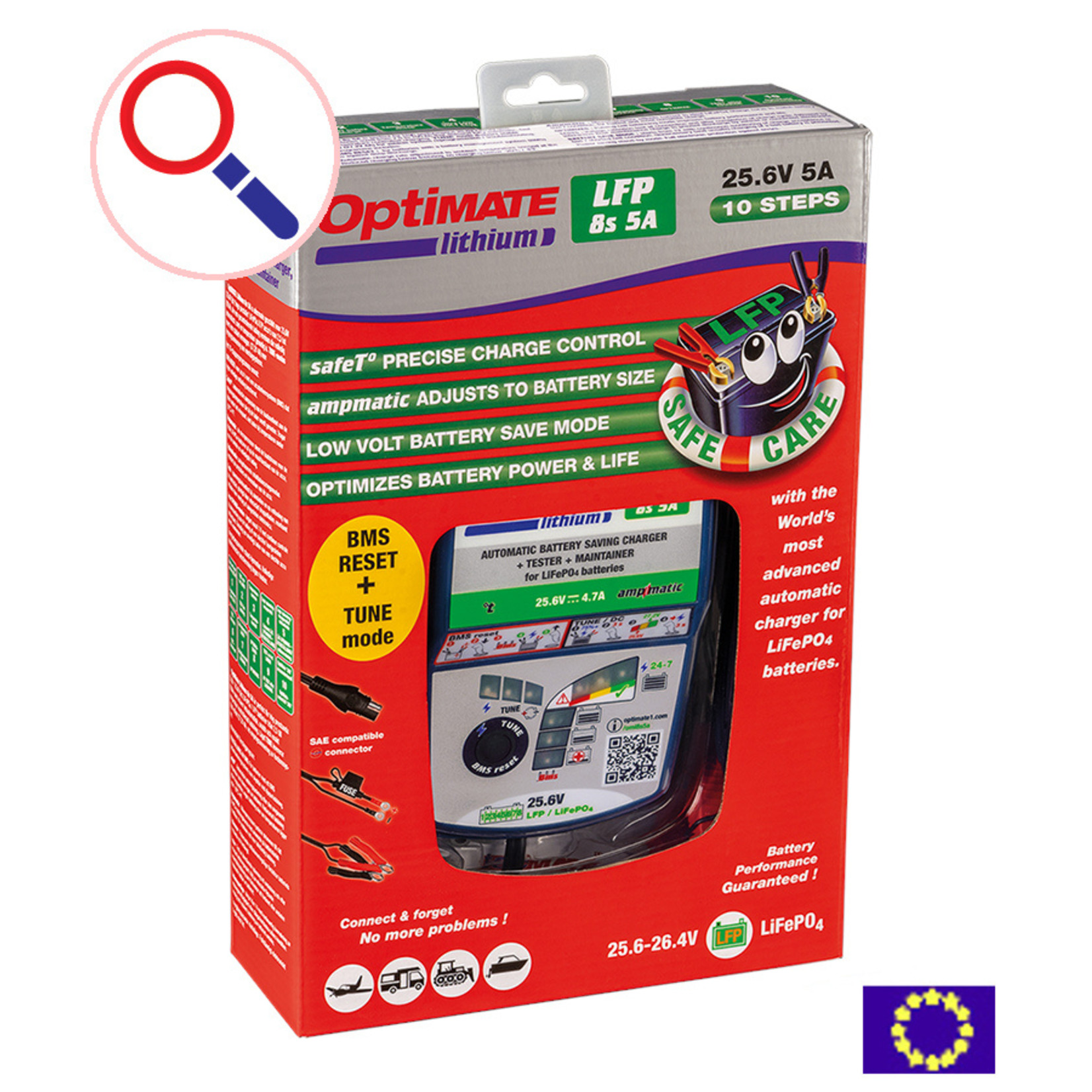 OptiMate OptiMate Lithium 8s 5A - Battery Charger