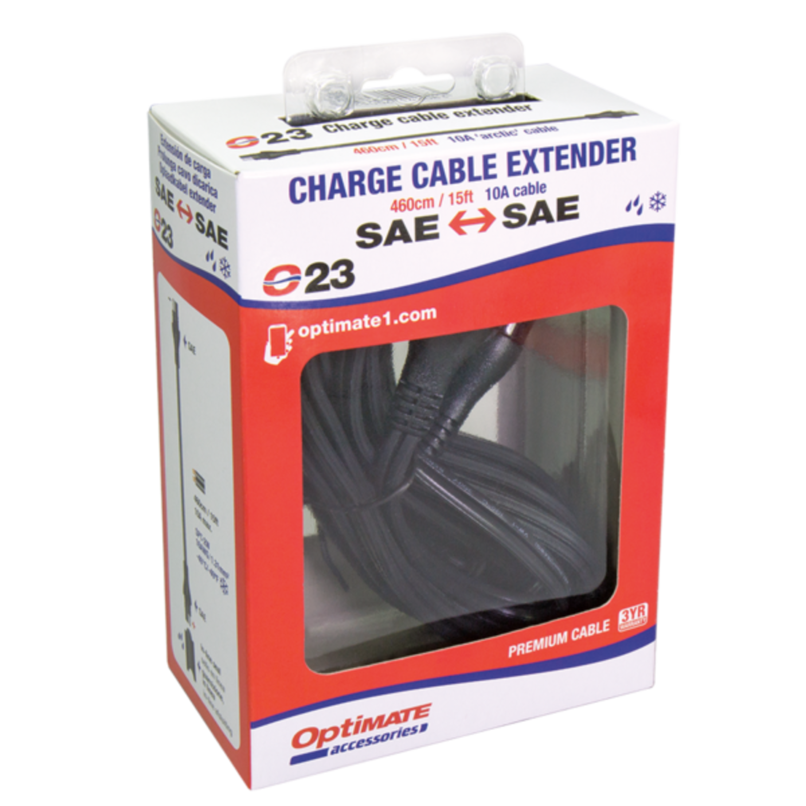 OptiMate OptiMate O-23 Cable extender 10 Amp