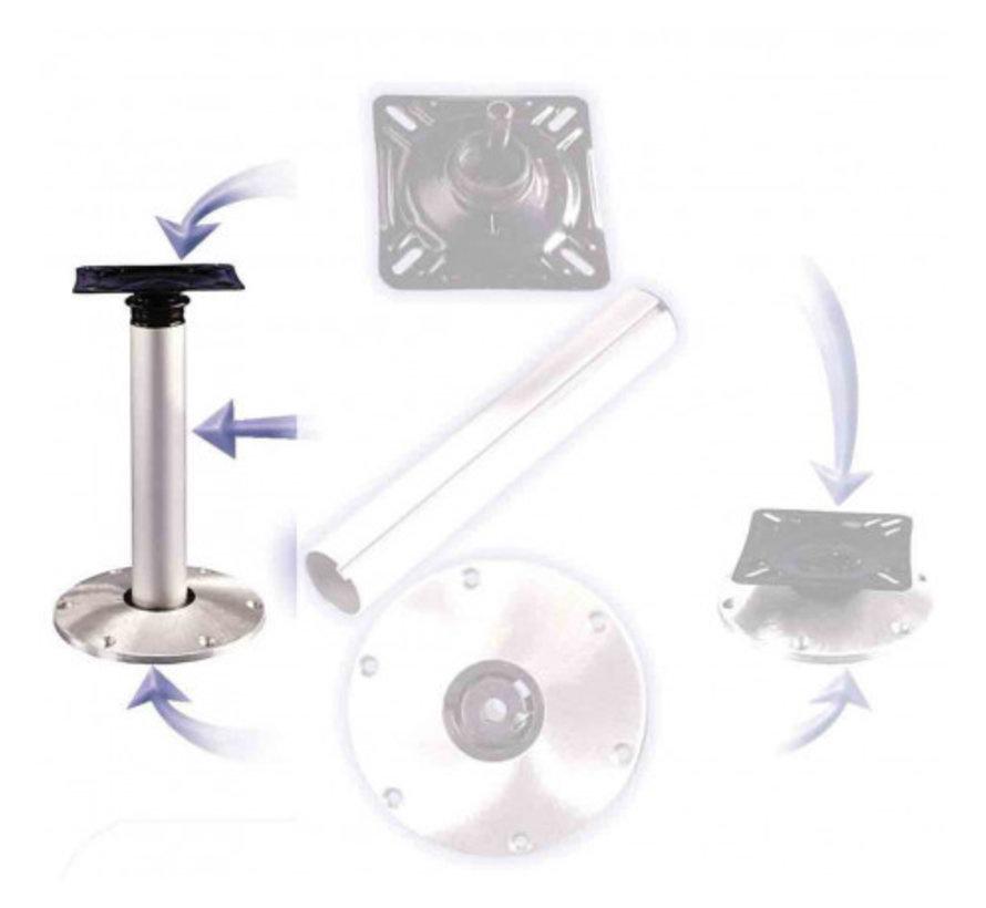 High-low Stoelpootset - Plug-in Basis