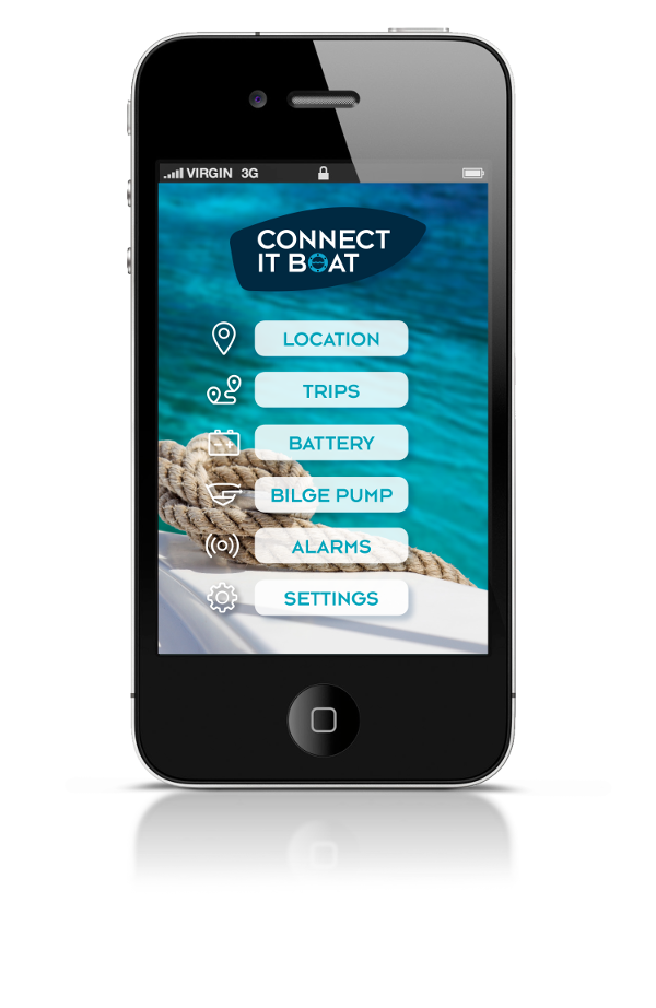 Connect It Boat - Modem and application