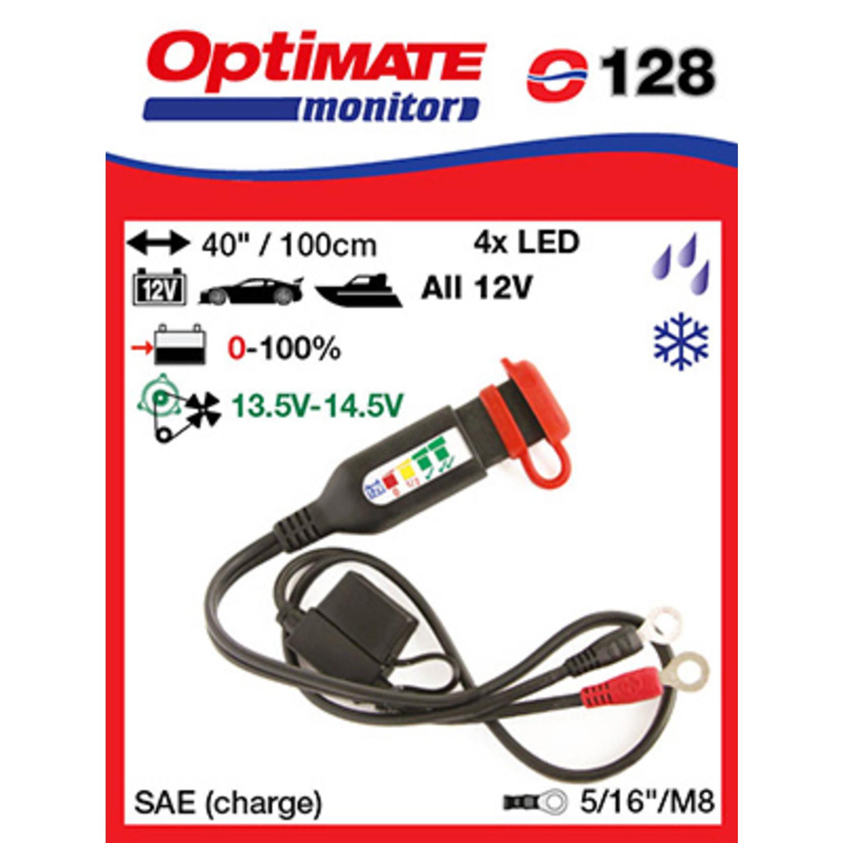 OptiMate OptiMate O-128 Battery monitor 12V