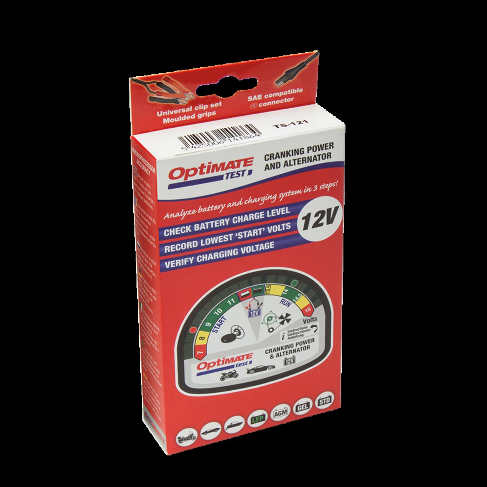 OptiMate OptiMate Test - Cranking & Alternator
