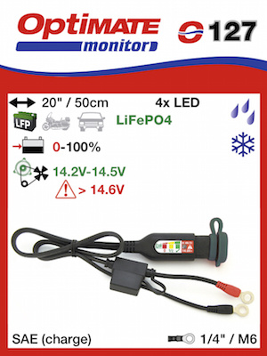 OptiMate O-127 - Lithium Battery monitor