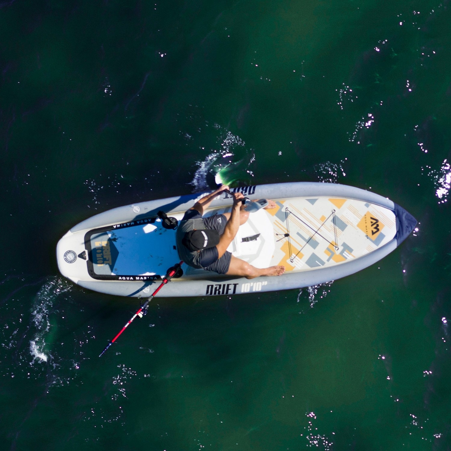 Drift Fishing - Inflatable Paddle Board