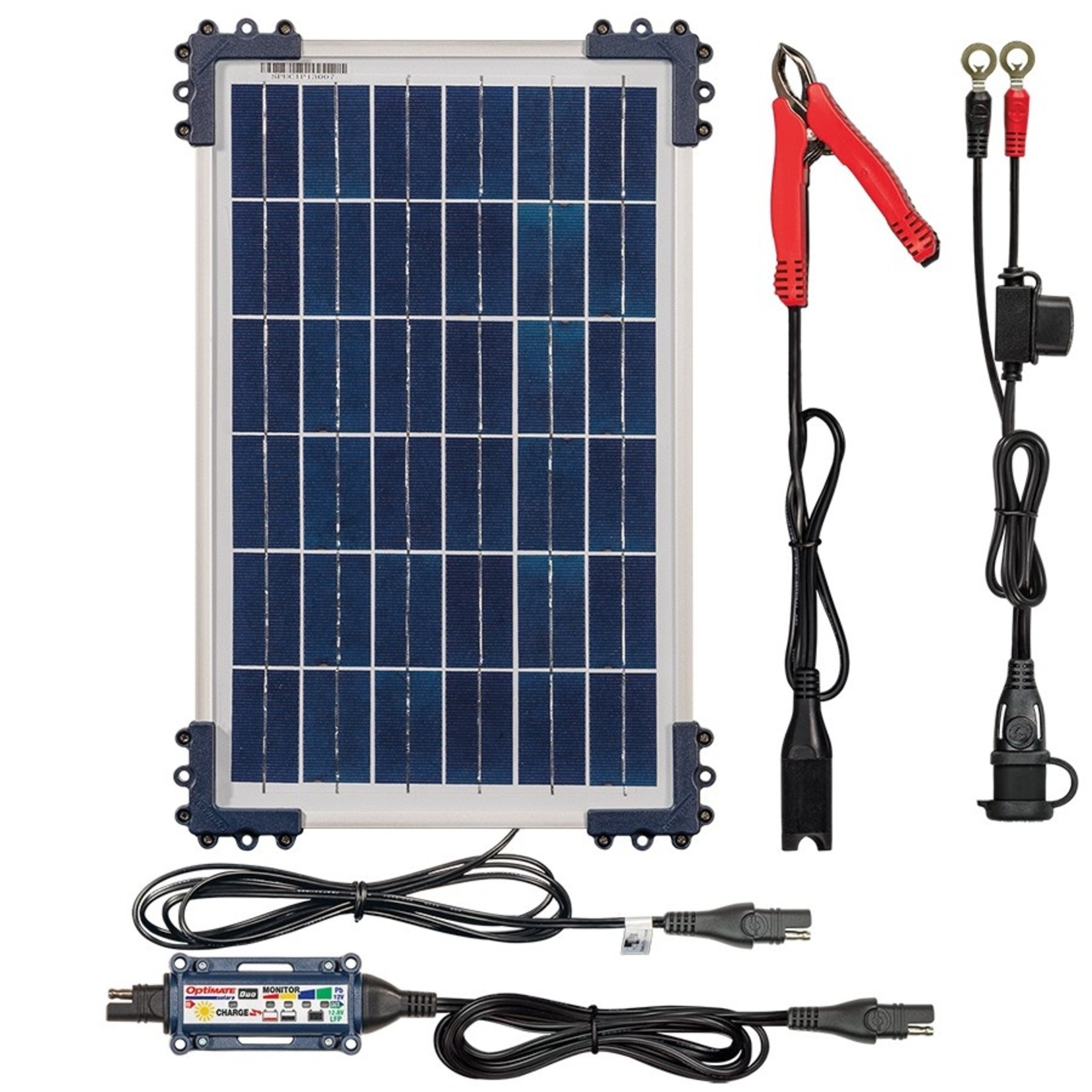 OptiMate DUO Solar 10W - Battery Charger