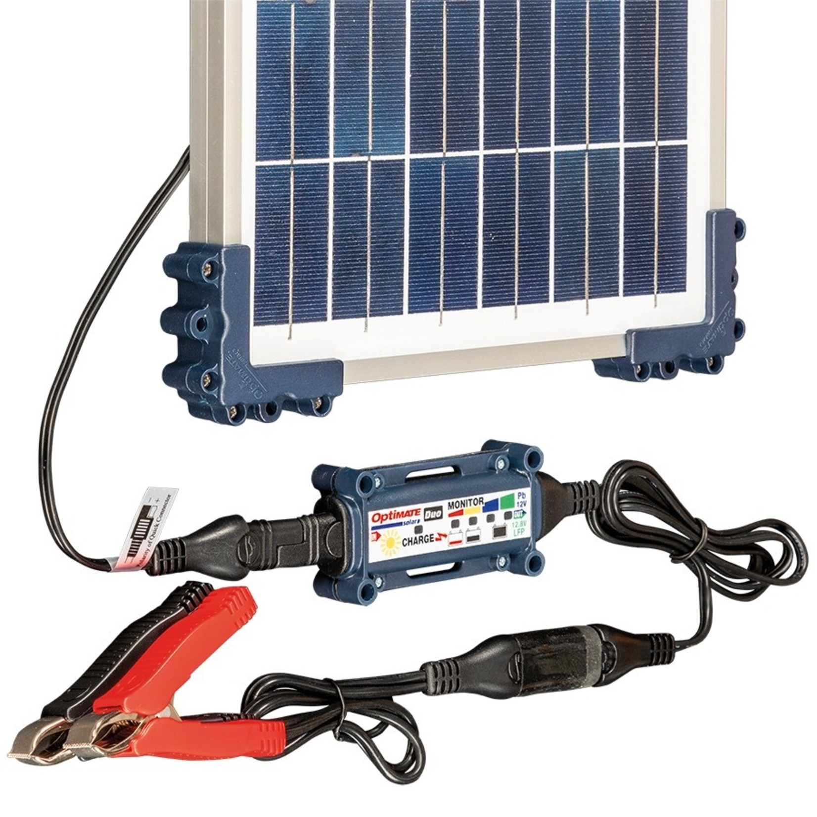 OptiMate DUO Solar 10W - Acculader