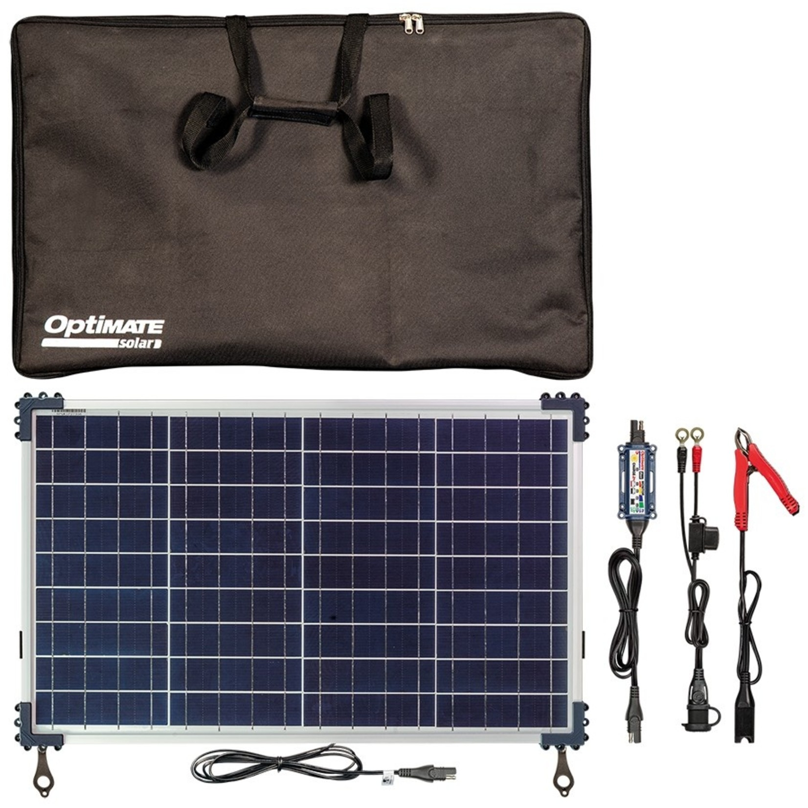 OptiMate DUO Solar 40W - Travel Kit - Battery Charger
