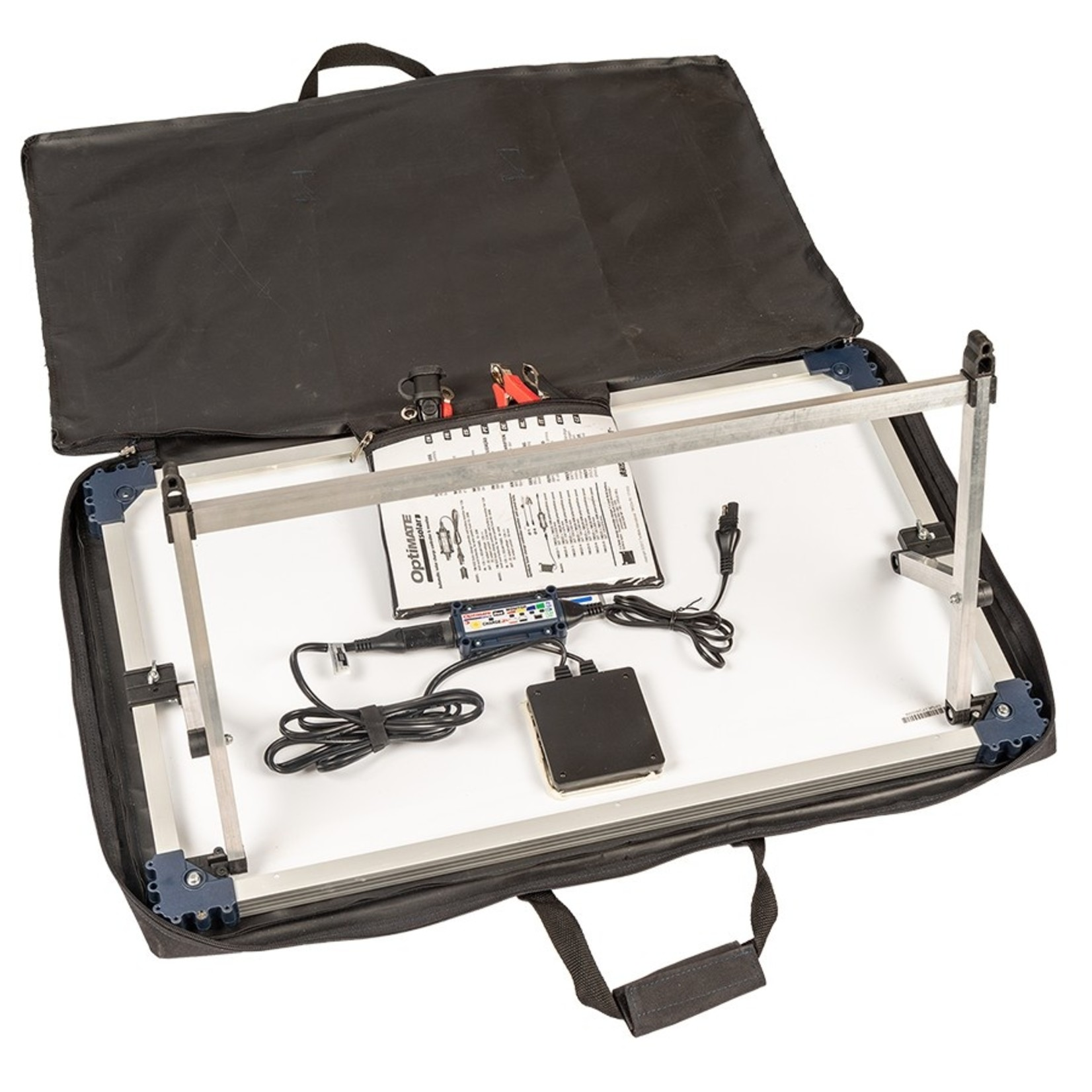 OptiMate DUO Solar 40W - Travel Kit - Acculader