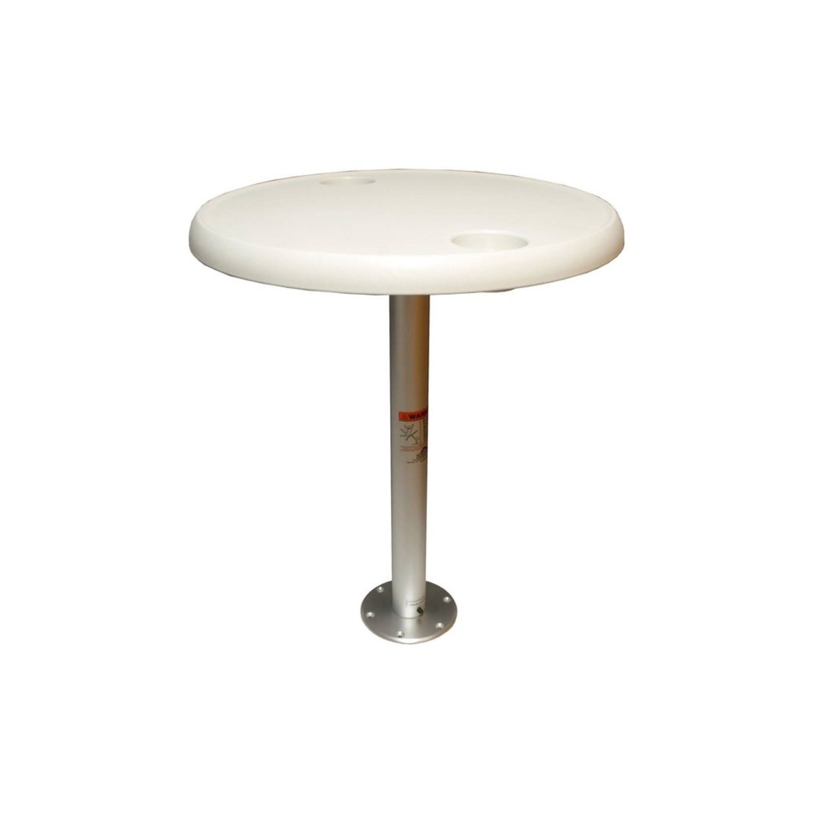 Allpa Table Complete | Table top with pedestal