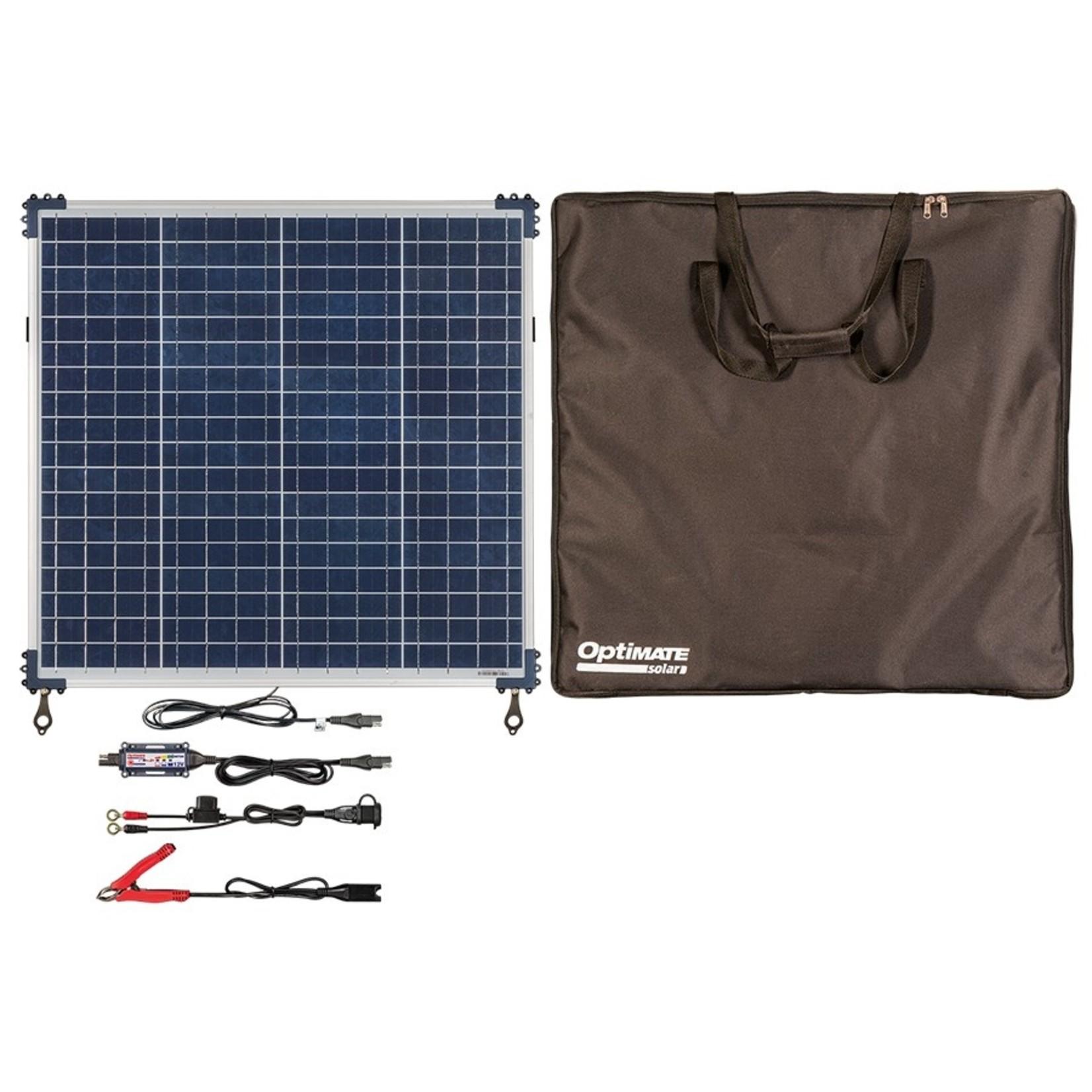OptiMate Solar 60W - Travel Kit - Acculader