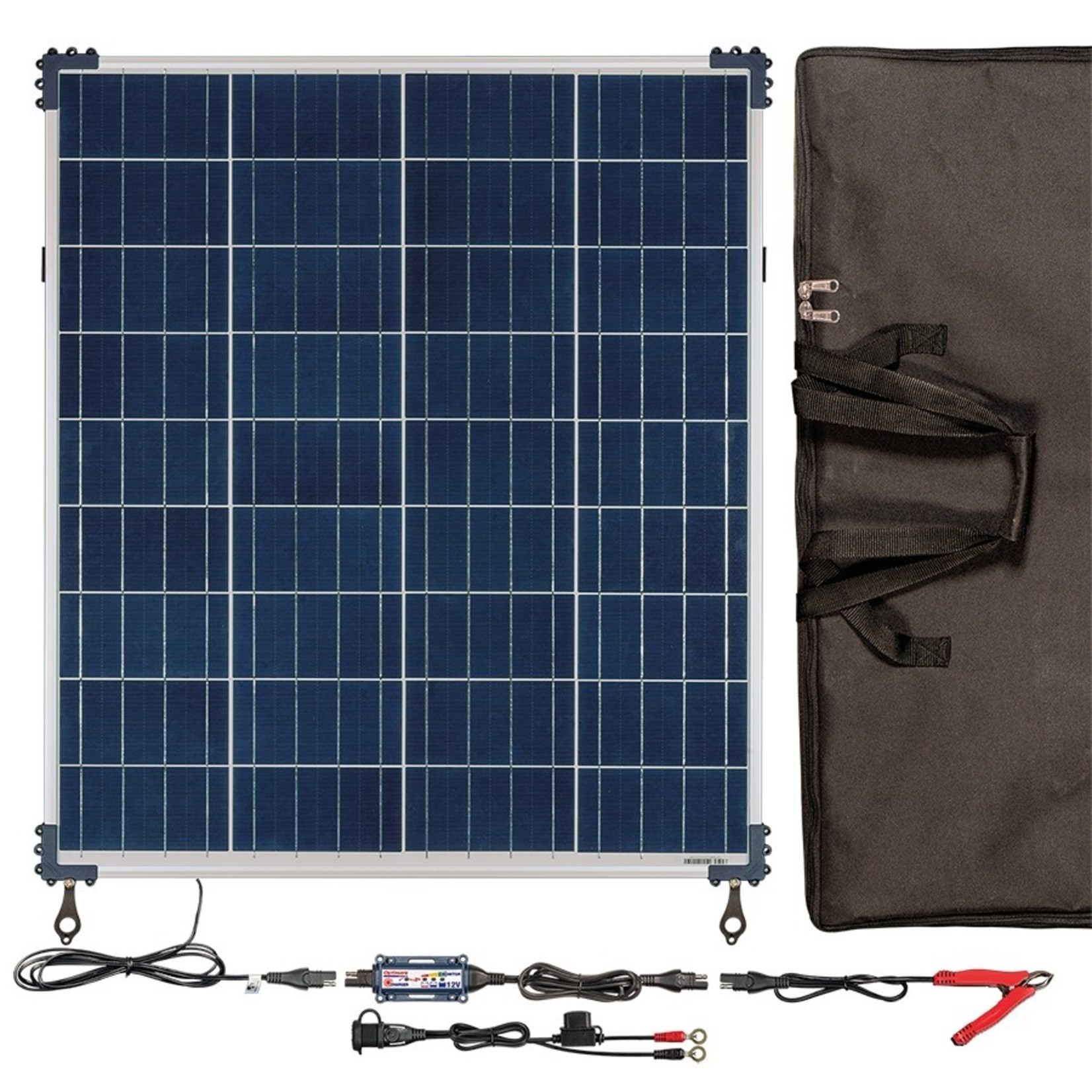 OptiMate Solar 80W - Travel Kit - Acculader