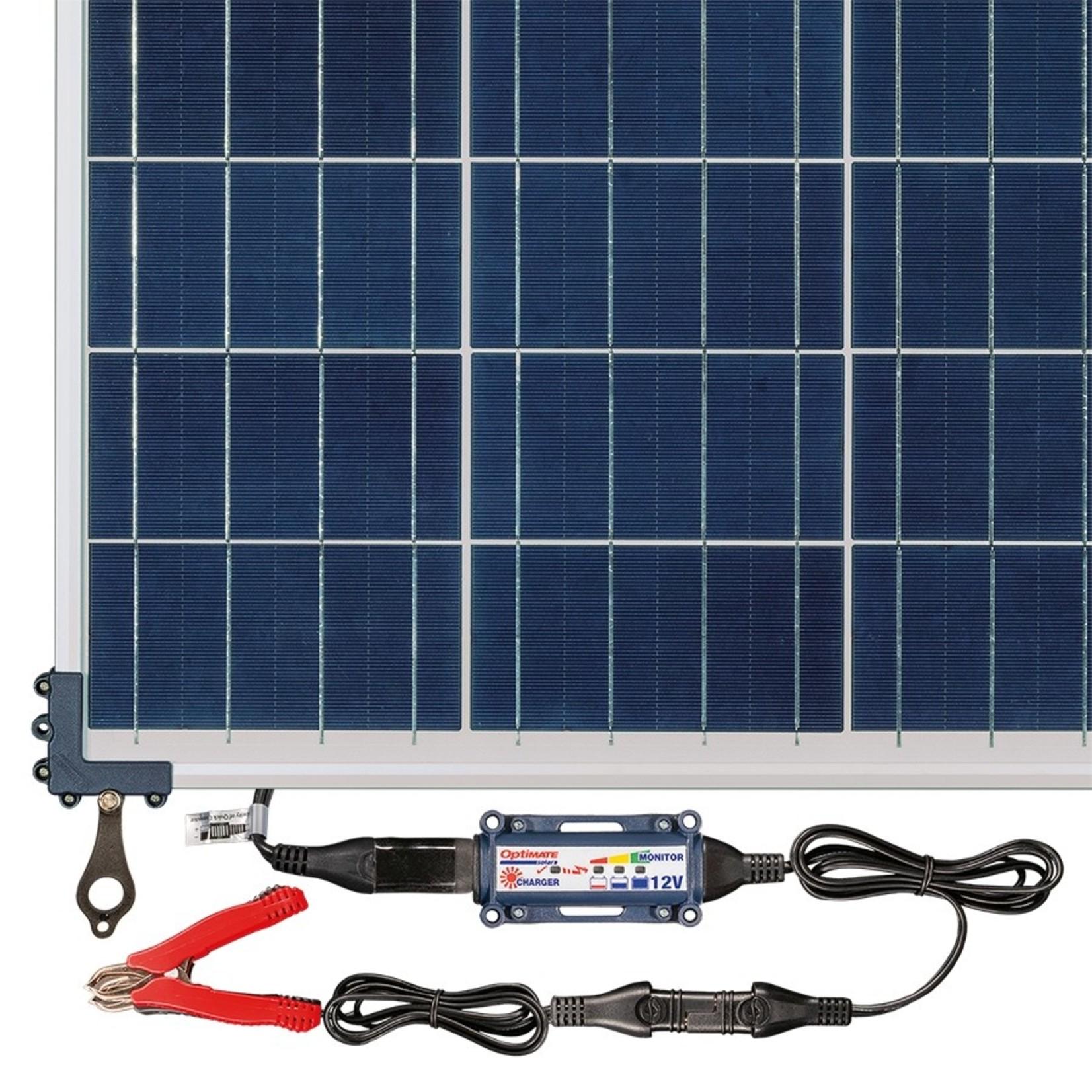OptiMate Solar 80W - Travel Kit - Battery Charger