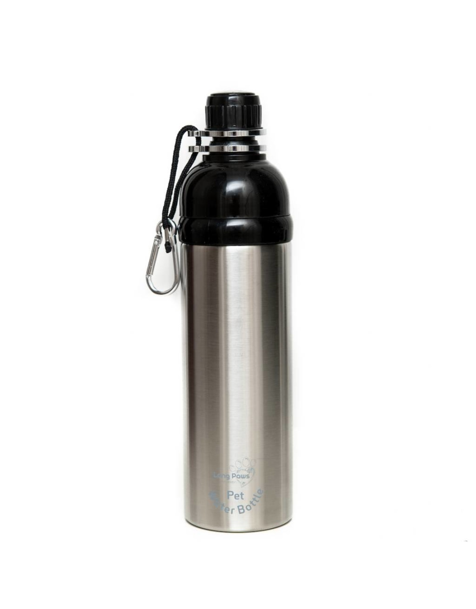 Silver Long Paws water fles