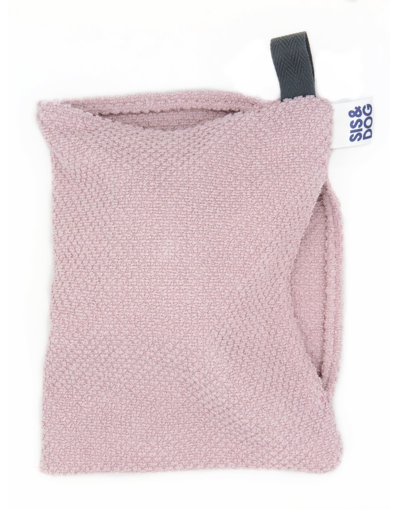Paw towel dirty paws old pink
