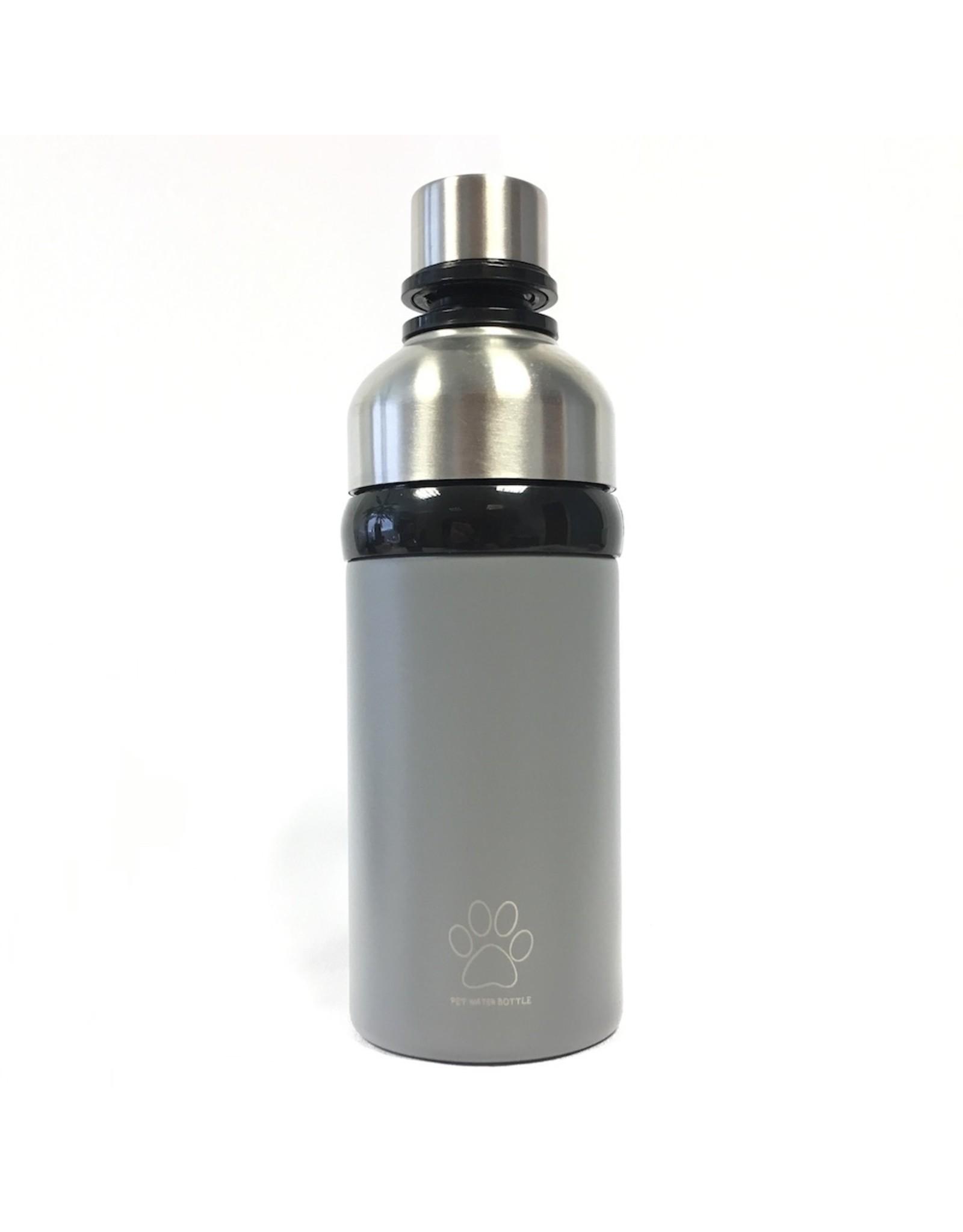 Powder Grey Long Paws Water bottle