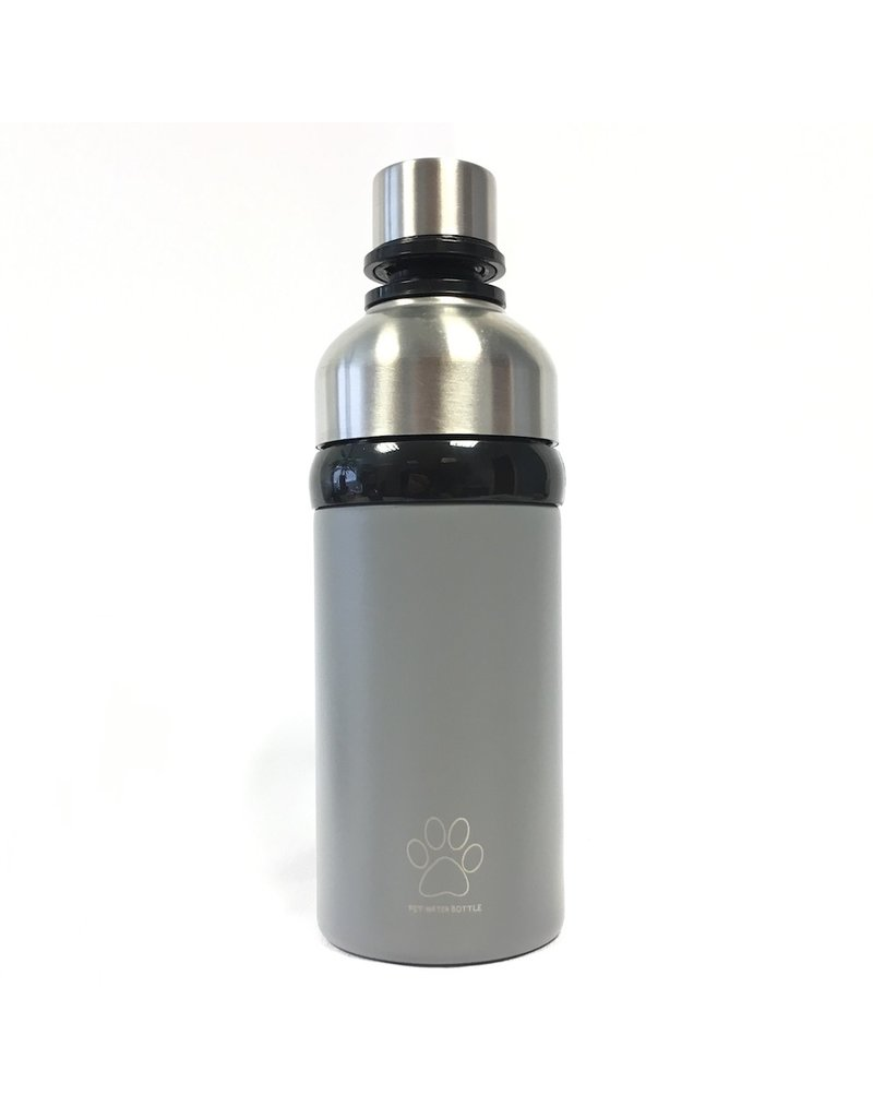 Powder Grey Long Paws Water bottle