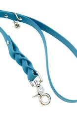 Biothane honden riem Blue