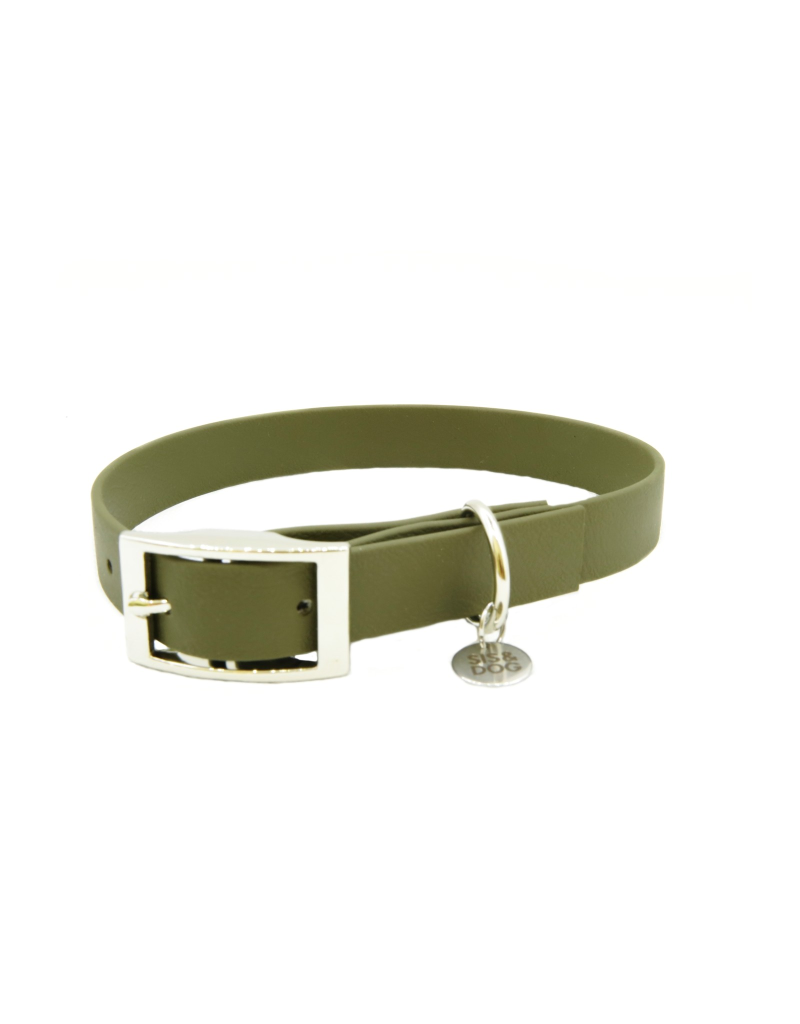 Biothane Dog Collar Olive