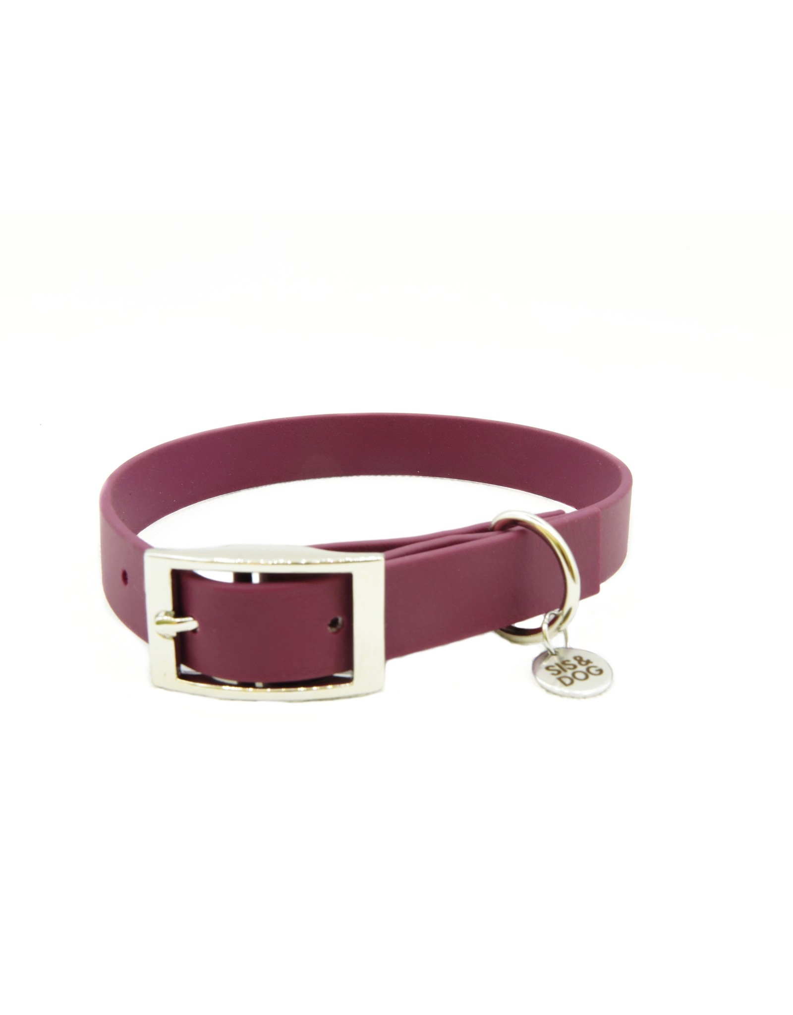 Biothane dog collar Wine