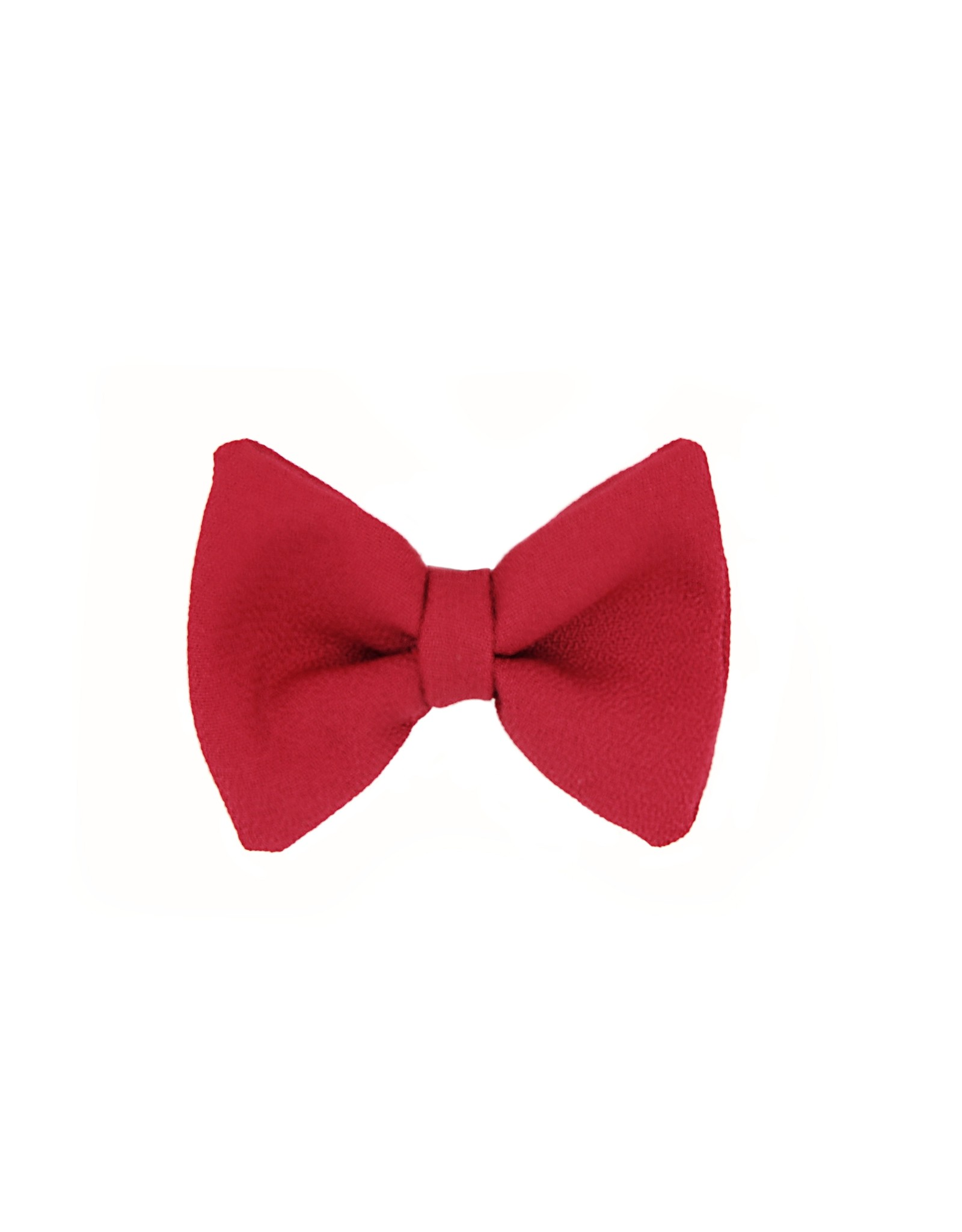 Dog Bowtie Xmas Red
